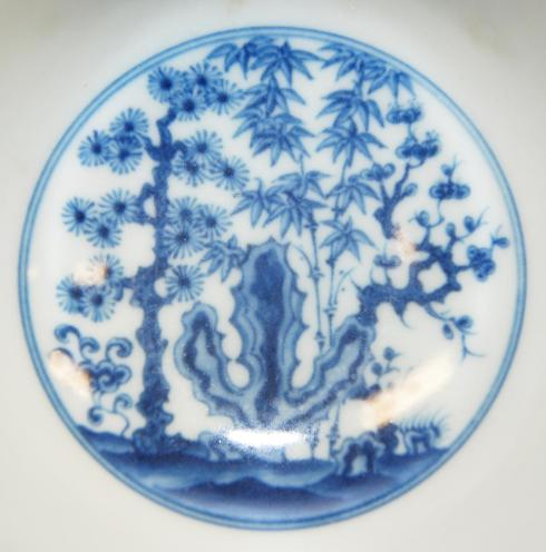 Interior scene from the Chenghua bowl