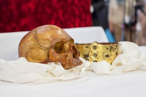 The Skull and Crown of Erik IX of Sweden