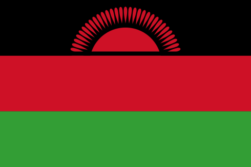 The Flag of Malawi (1964-2010: 2012-present)
