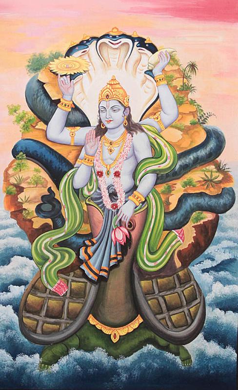 Vishnu as Kurma