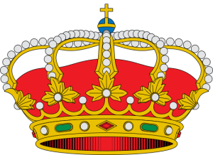 Crown of of Alfonso of Spain