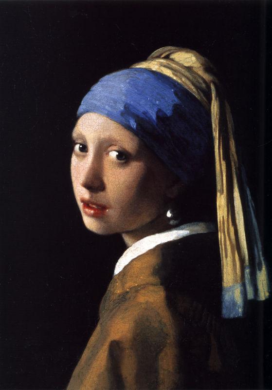 Girl with a Pearl Earring (Johannes Vermeer, 1665, oil on canvas)