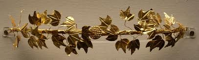 British Museum: Etruscan Gold Wreath