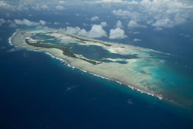 Palmyra Atoll in the Pacific Remote Islands Marine National Monument