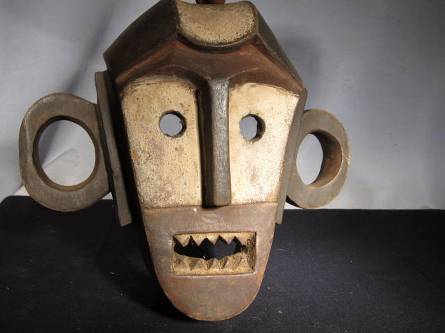 Boa Mask (carved wood, contemporary)
