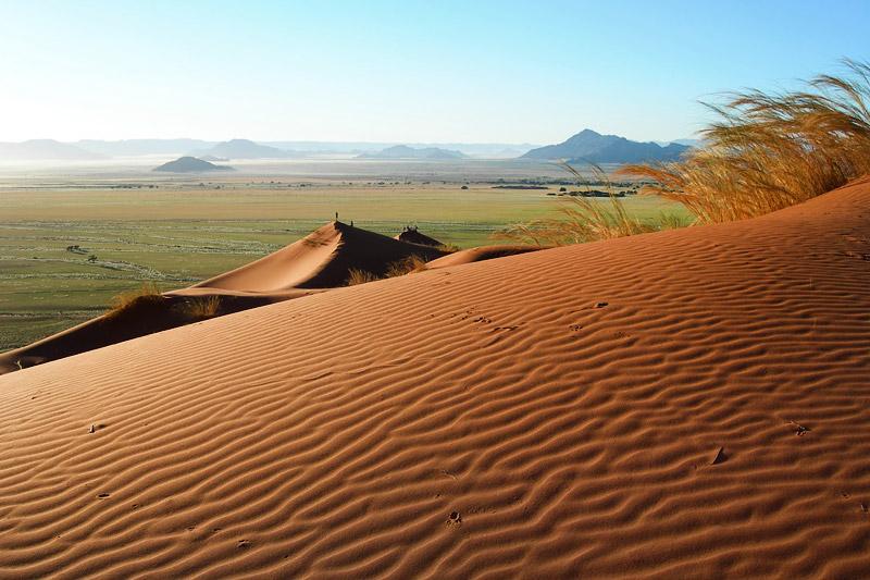 The Kalahari Desert of Botswana