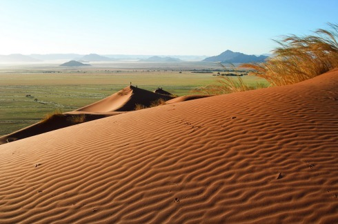 The Kalahari Desert of Botswana