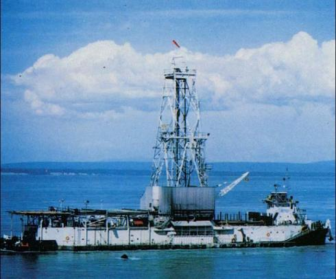 The Main Drilling Ship used for the Mohole Project