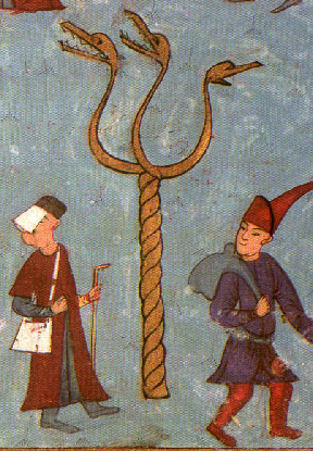 An Ottoman Miniature Painting of the Column