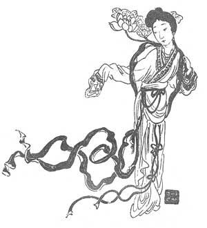 The Celestial Weavergirl Zhinü