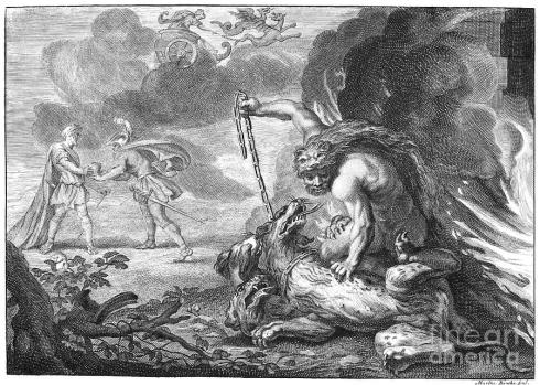 Cerberus (Martin Boucher? late eighteenth century)