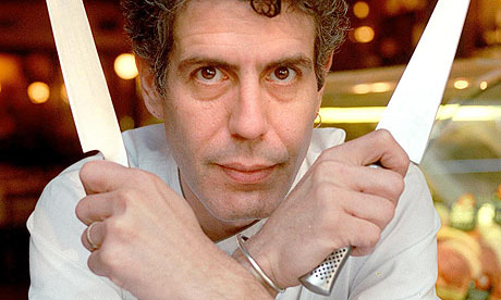 Argh! Anthony Bourdain!