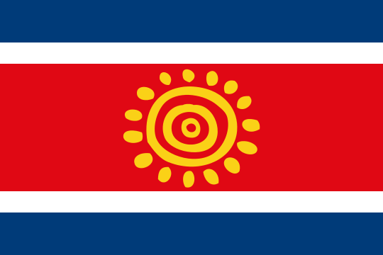 Proposed Flag of Angola (2003)