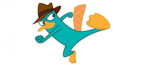 "Perry the Platypus AKA ""Agent P"""