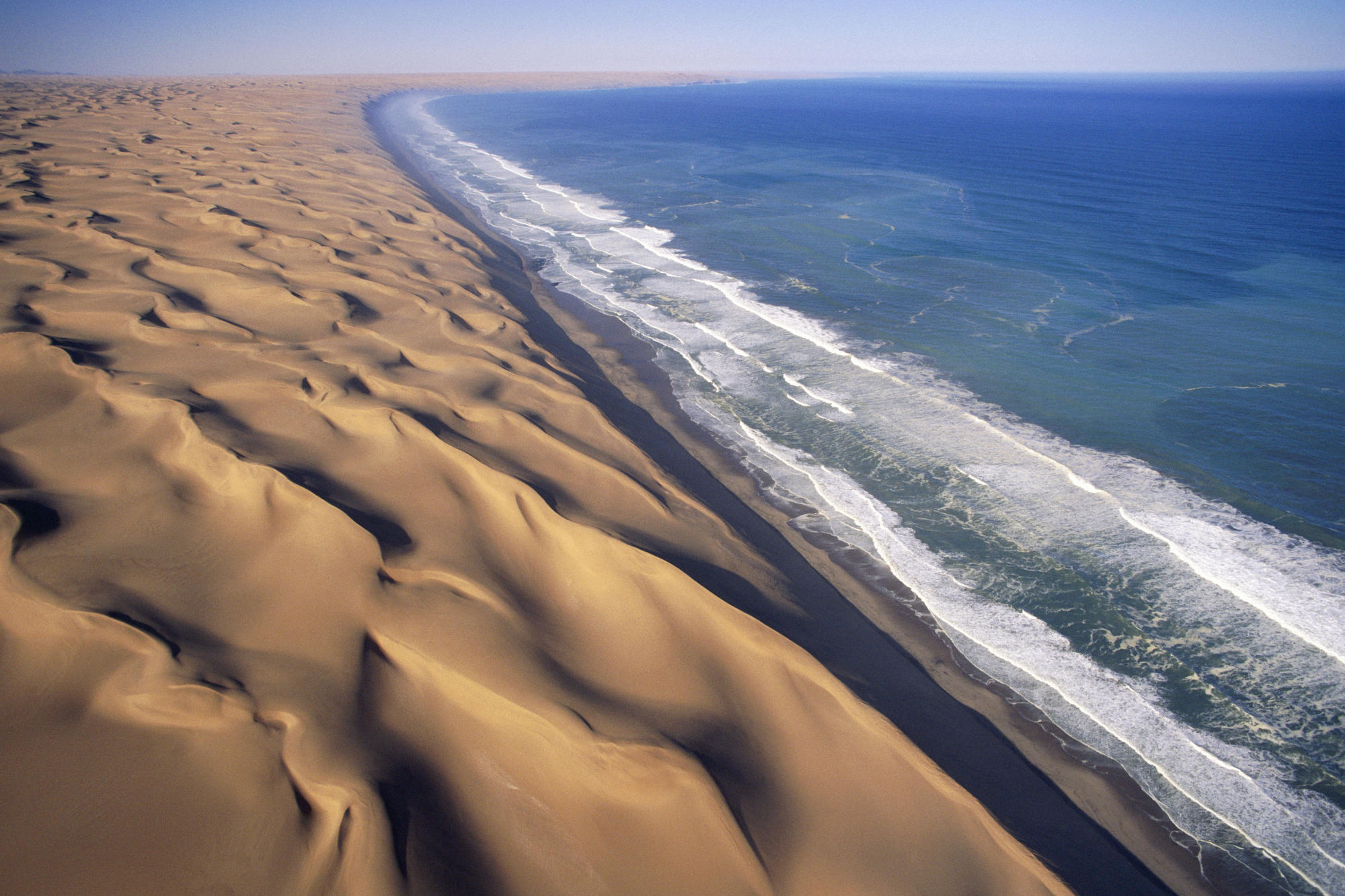Namib Desert In Africa on Landforms Of The Earth