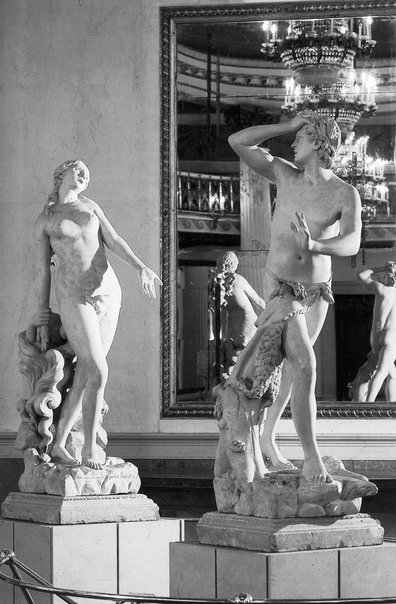 Orpheus and Eurydice (Antonio Canova, 1776, marble)