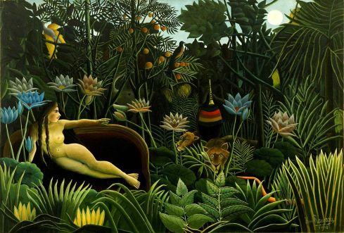 The Dream (Henri Rousseau, 1910, oil on canvas)