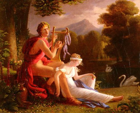 Orpheus And Eurydice (Louis Ducis, 1826, oil on canvas)