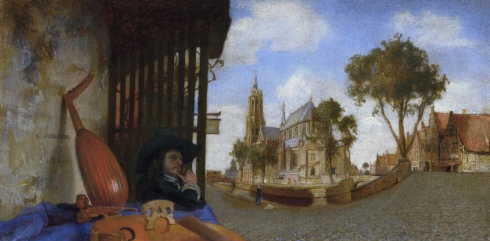 A View of Delft (Carel Fabritius, 1652, oil on canvas)