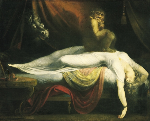 The Nightmare (Henry Fuseli, 1781, oil on canvas)