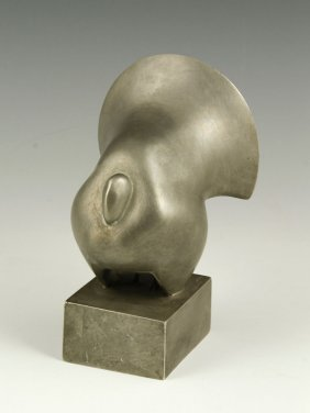 Turkey Sculpture (Philip Grausman, aluminum)