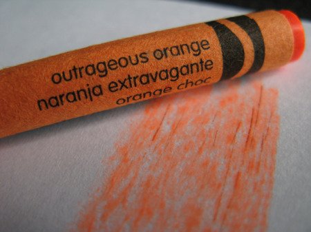 I feel like I remember this crayon from my own 70's childhood