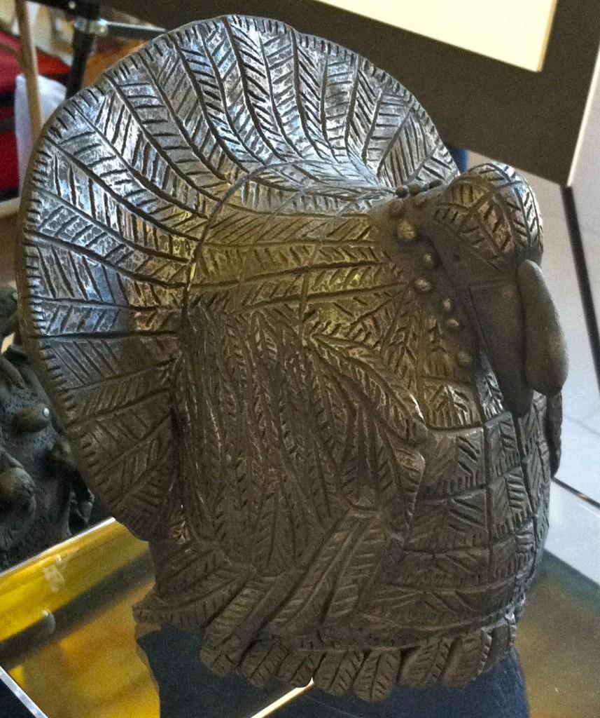 Turkey sculpture by Carlomagno Pedro Martinez