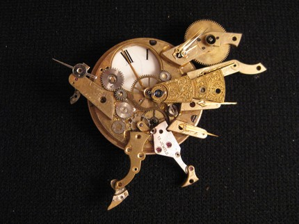 steampunk turkey watch by IckyDogCreations