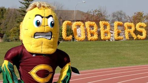 This angry ear of corn is from Concordia College in Minnesota