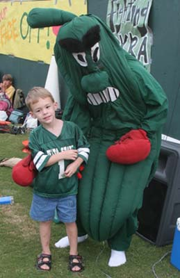 The Delta State University Fighting Okra is naturally from Mississippi