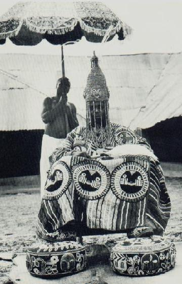 Oba Adémuwagun Adésida II ( photo taken in 1959)