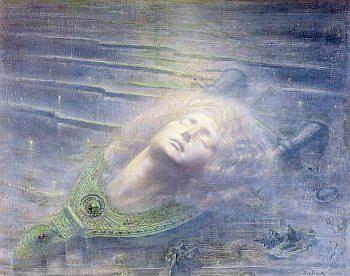 Orpheus (Jean Delville, 1893, oil on canvas)