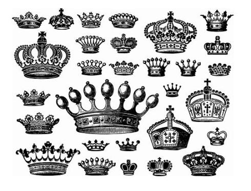 vector-crowns
