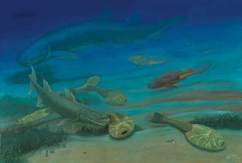 Life in the Early Devonian (by Gogosardina)