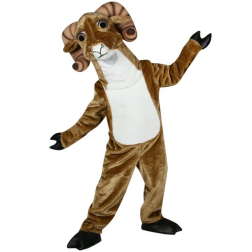Fast-custom-new-Ram-Mascot-Adult-Costume-cosplay-cartoon-free-size-by-express-free-shipping