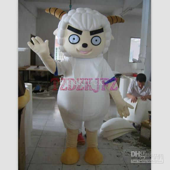 """""""High Quality Angry Sheep Mascot Costumes"""""""
