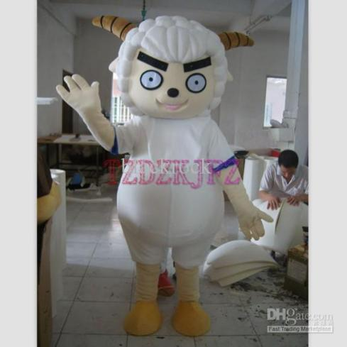 """High Quality Angry Sheep Mascot Costumes"""