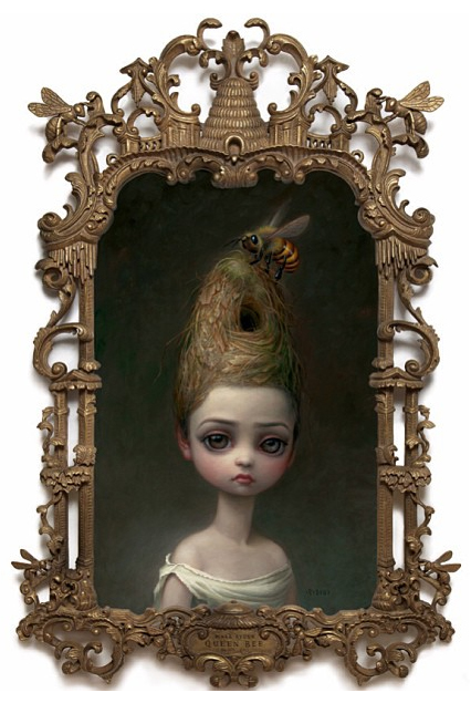 Queen Bee (Mark Ryden, 2014, oil on canvas)
