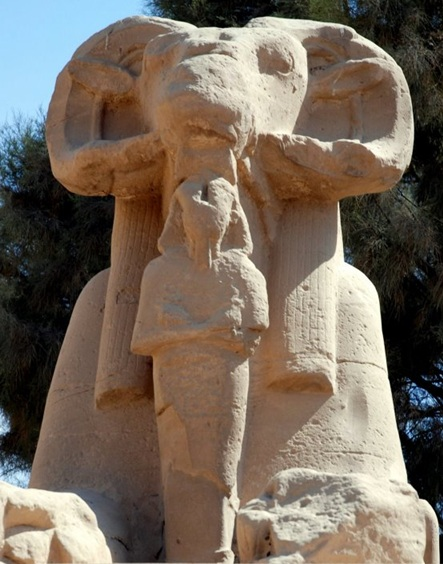 Ram-headed-amun-pharaoh