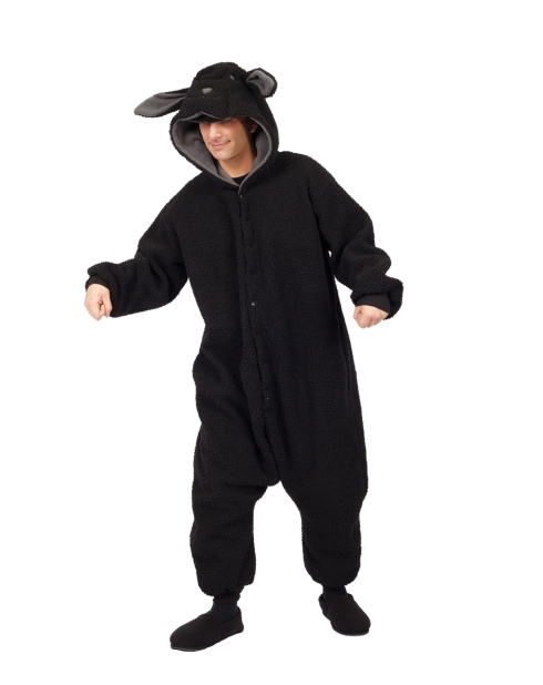A black sheep costume