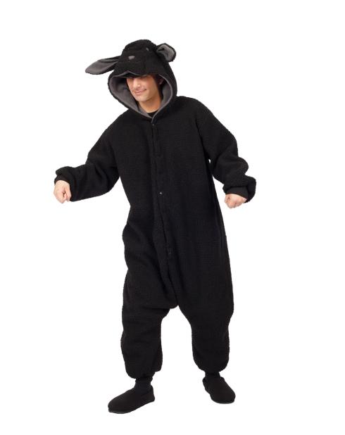 A black sheep costume