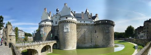 The château of the Dukes of Brittany
