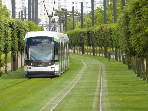 The Nantes Tramway opened in 1985--as other cities got rid of their trams.