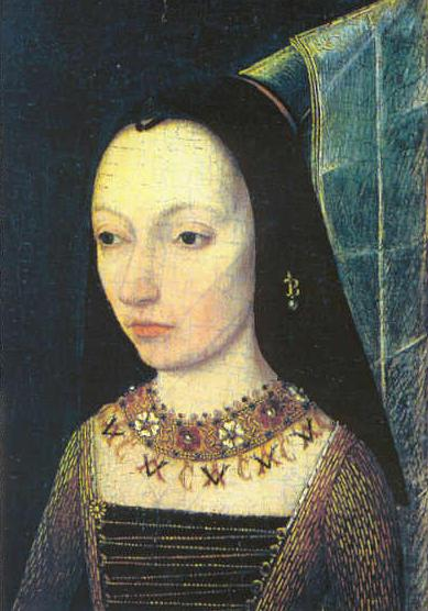 Anonymous portrait of Margaret of York, ca. 1468, Louvre