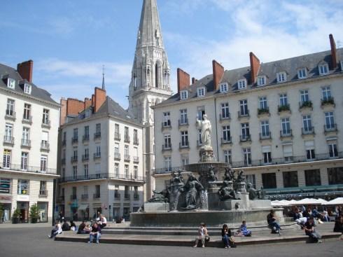 City Center of Nantes