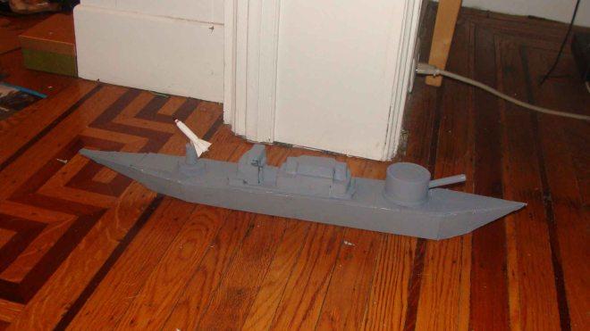 A missile cruiser!