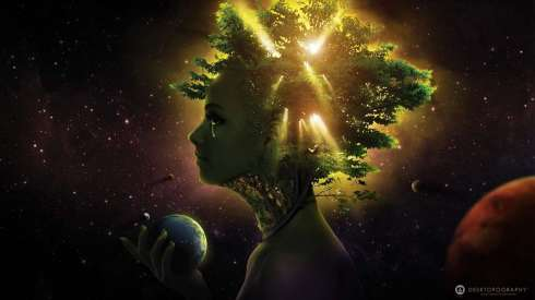 girl-face-tree-ball-space-hd-wallpaper-1080p