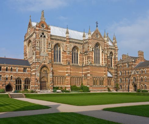 Keble College Chapel, Oxford, England (photo by David Iliff)