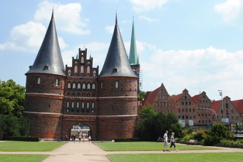 Holsten Gate, Lübeck, Germany