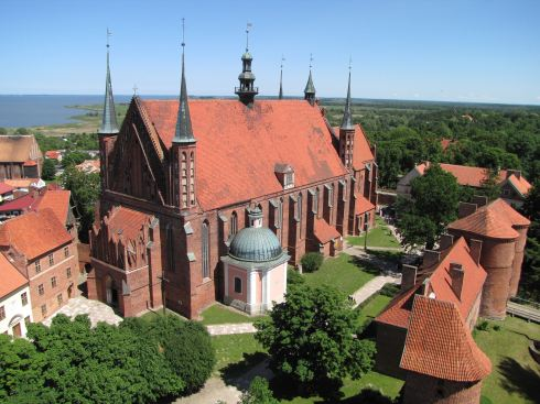 Cathedral Hill, Frombork, Poland